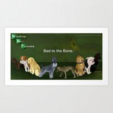 Breaking Bad Dogs Art Print