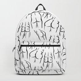 Butt Buddies Print Backpack