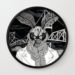 The Cryptids - Mothman Wall Clock