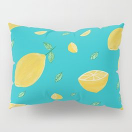 Mellow lemon yellow Pillow Sham