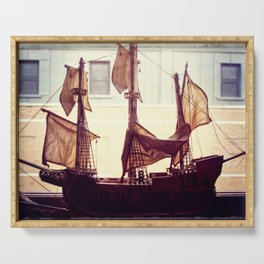 Clipper ship Serving Tray