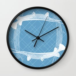 FishNet Wall Clock