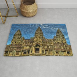 Angkor Wat temple - Cambodia Color Photographic Printtemple - Cambodia Color Photographic Print Rug