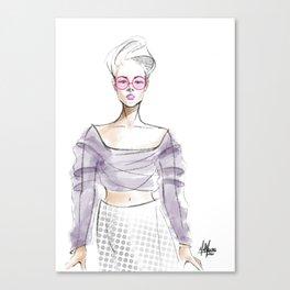 Sheer Imagination Canvas Print