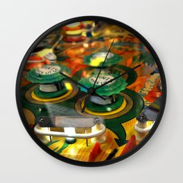 Pinball 2 Wall Clock