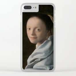 Study of a Young Woman Clear iPhone Case