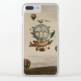 La Minerve 1803  travel in style Clear iPhone Case