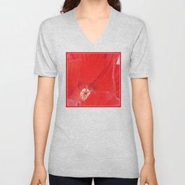 Red Hibiscus | Flower | Flowers | Nadia Bonello | Canada Unisex V-Neck