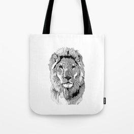 Animal Prints - Proud Lion - By Sharon Cummings Tote Bag