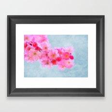 Cherry Blossom (in memory of Mackenzie) Framed Art Print