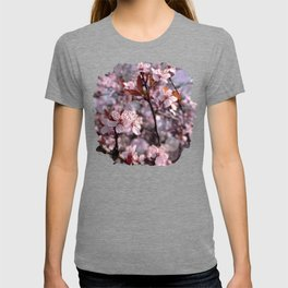 Cherry Plum Tree Pink T-shirt