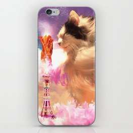 The Oreo Cat: I dream of bacons iPhone Skin