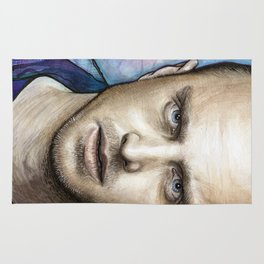 Jesse Pinkman Portrait Rug