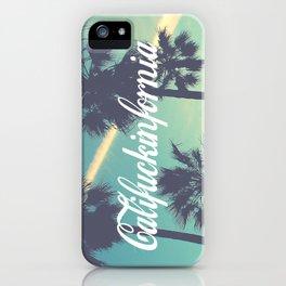 CaliFUCKINfornia iPhone Case