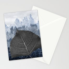 Peuplier deltoïde - Populus deltoïdes Stationery Cards