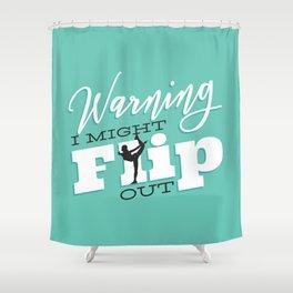 Gymnastic Flip Shower Curtain