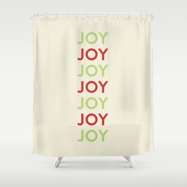Joy! Shower Curtain