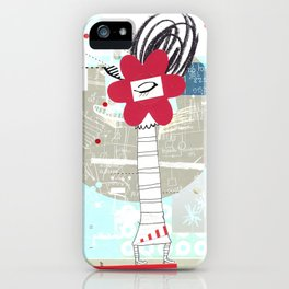 Soy humano iPhone Case