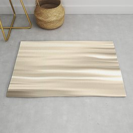 On The Water - Silver/Gold Rug