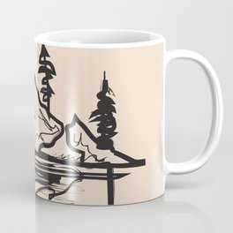 Abstract Landscpe Coffee Mug