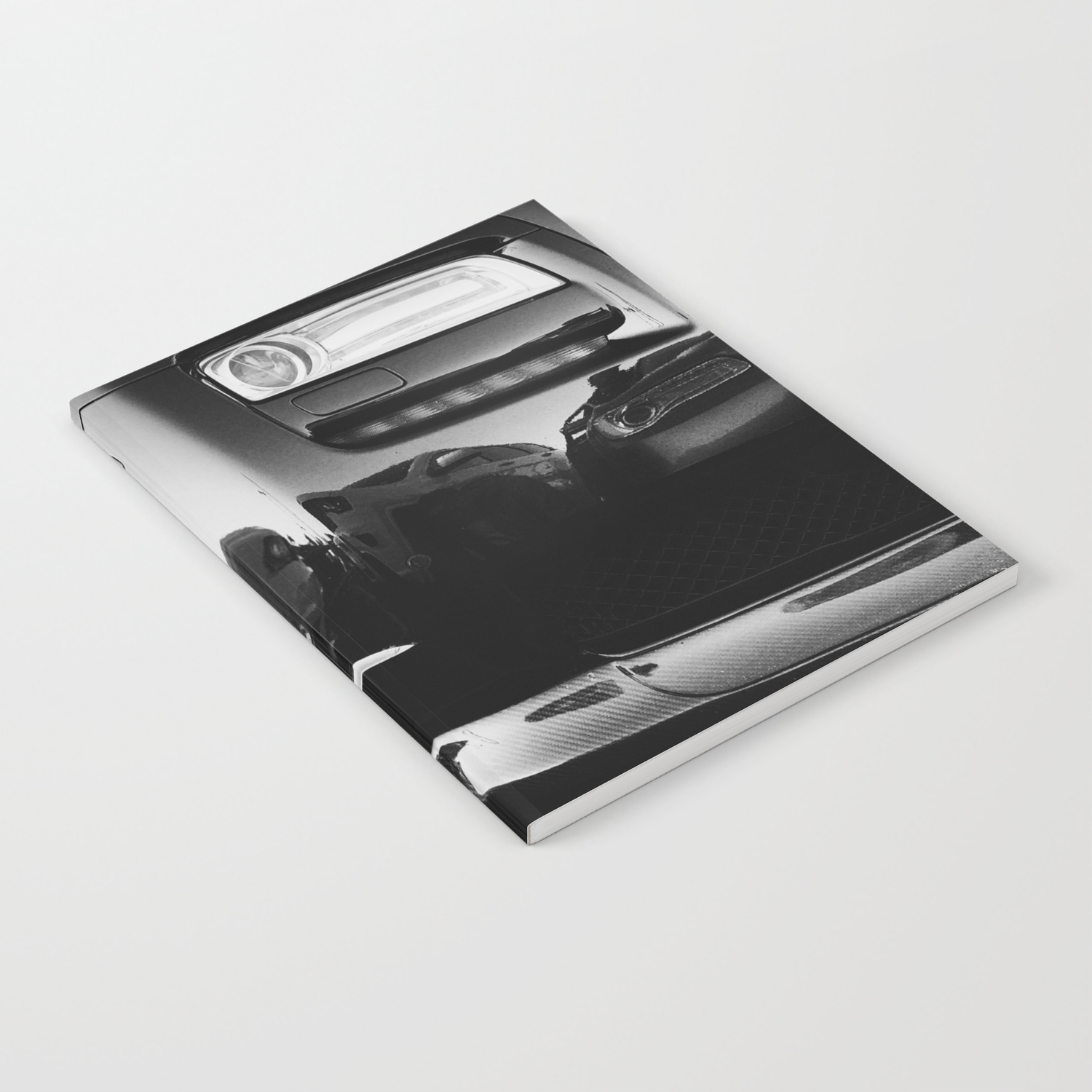 Rolls Rims Black And White Luxury Super Car Photography Real Life Street Shots Notebook By A88cityscape Society6