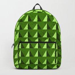 Green Hills Geometric Backpack