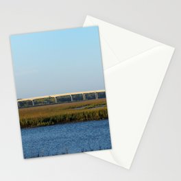 Bridge View From The Island Stationery Cards