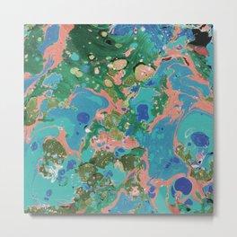 Painting lagoon Metal Print