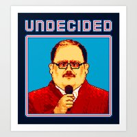 Undecided (Ken Bone) Art Print