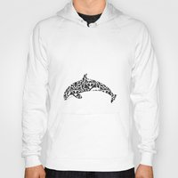 baroque Hoodies featuring Baroque Orca by Sdeco Design