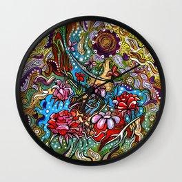 Agota Krnacs Illustration©2012 Wall Clock