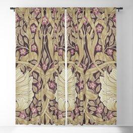 William Morris Vintage Pimpernel Fig & Sisal Blackout Curtain