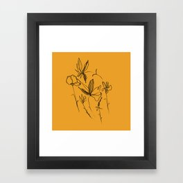 Remember The Small Joys Of Spring Framed Art Print