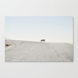 Death Valley Poetry I Canvas Print