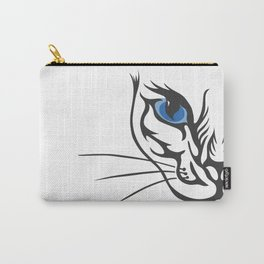 Wild Cat by FreddiJr Carry-All Pouch