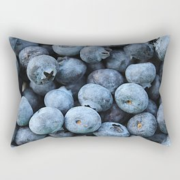 Breakfast Blues Rectangular Pillow