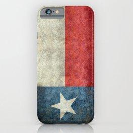 Texas flag iPhone Case