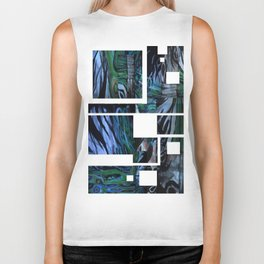 The Abstraction of Utopia and Oblivion  Biker Tank