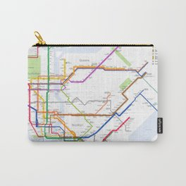 New York City Metro Station Carry-All Pouch