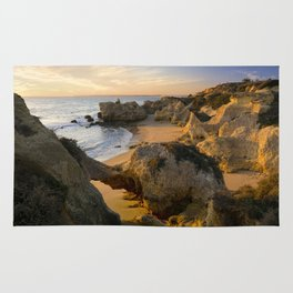 An Algarve cove, Portugal Rug