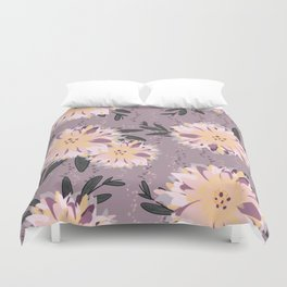 Fancy Floral Duvet Cover