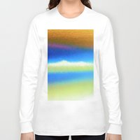 bands Long Sleeve T-shirts featuring Colour Bands by Brian Raggatt