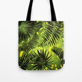 Tropical Leaves Aloha Jungle Garden Tote Bag