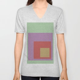 Color Ensemble No. 4 Unisex V-Neck