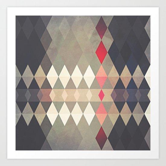 Geometric K8 Art Print
