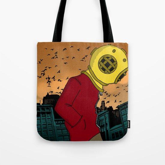City Diving Tote Bag