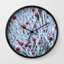 Jingle Snow Bells Wall Clock