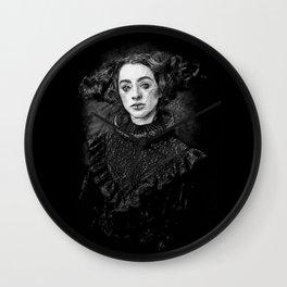 dark lady 2 Wall Clock