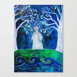 Handless Maiden Canvas Print