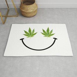 Weed Smile Rug